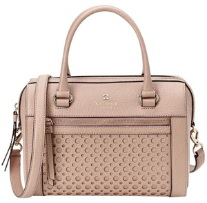 Kate Spade Leather Geniune Satchel in Cream/ Beige