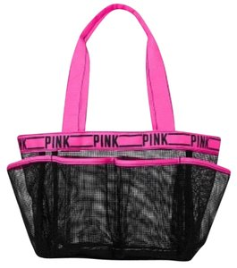 PINK Black Travel Bag