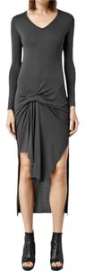 Charcoal Maxi Dress by AllSaints