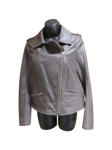 Trouvé Leather Brown Leather Jacket