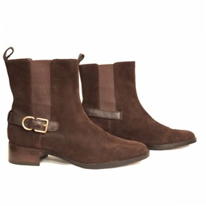 Lands' End Ankleboot Comfortable Suede New/nwot Brown Boots