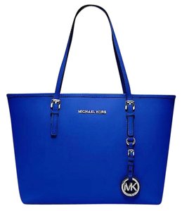 Michael Kors Tote in Blue Leather
