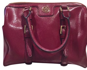 Tory Burch Satchel in red color
