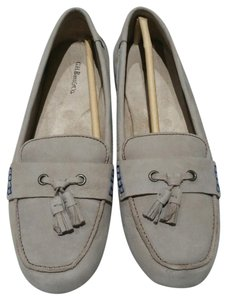 G.H. Bass & Co. Driving Loafers Gray Flats