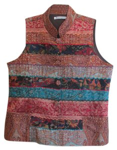 TravelSmith Button Down Shirt Multi color