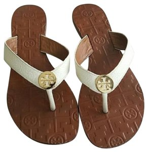 Tory Burch Thora Flip Flops Casual white Sandals