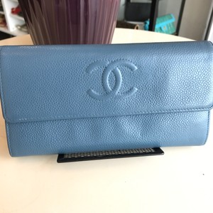 Chanel Chanel caviar long wallet