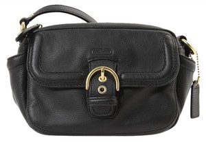 Coach Enamel Shiny Shoulder Bag