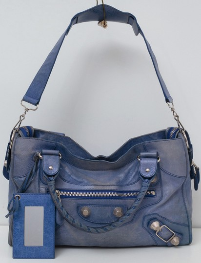 Balenciaga City Leather Shoulder Bag Image 4