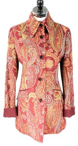 Etro Paisley Trench Coat