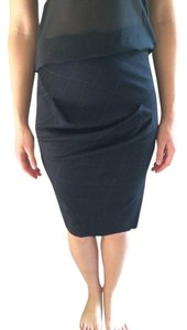 AllSaints Pencil Skirt Black