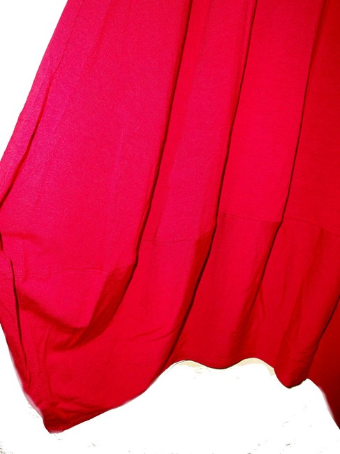 Eileen Fisher short dress Red Racerback Styling Side Panels Super Comfy Stretch Scoop Neck Sleeveless on Tradesy Image 6