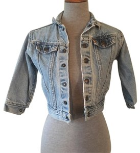 Levi's Blue, White, Bronze, Jean, Denim Womens Jean Jacket