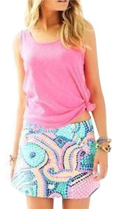 Lilly Pulitzer Skort Multi Tile Wave