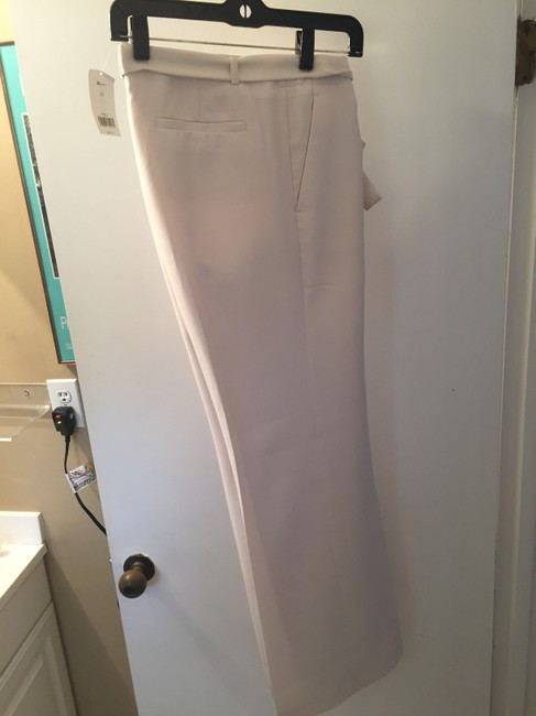 Banana Republic Belted Wide Leg Pants Cream Image 2