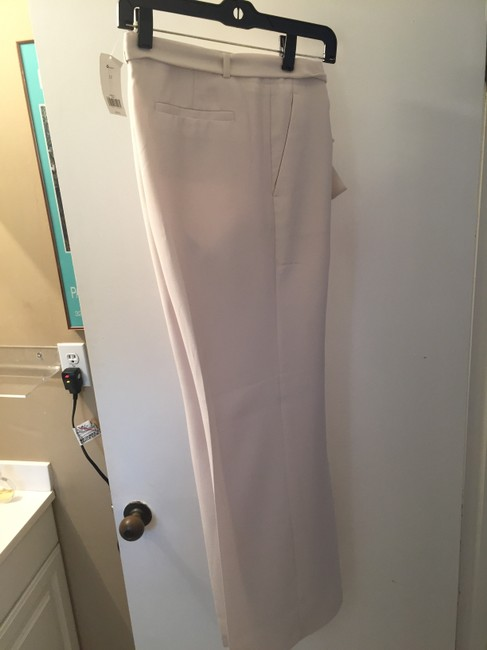 Banana Republic Belted Wide Leg Pants Cream Image 3