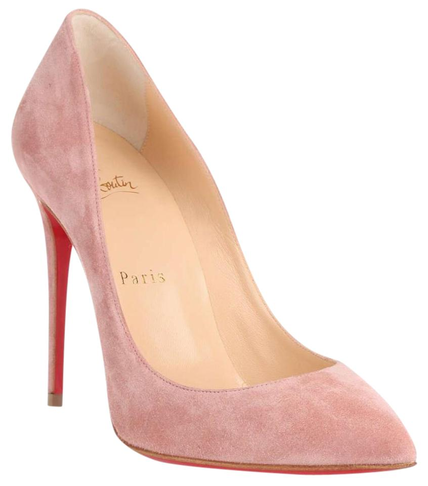 11fce7be052 Christian Louboutin Pink Pigalle Follies 100 Veau Velours Pumps Size US 6.5  Regular (M, B) 38% off retail