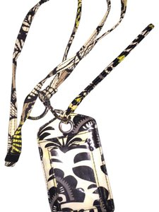 Vera Bradley Vera Bradley lanyard with attached wallet