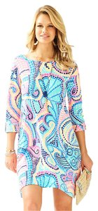 Lilly Pulitzer short dress Multi Tile Wave Reduced on Tradesy