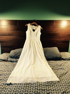 Marineblu Traditional White Dress Wedding Dress