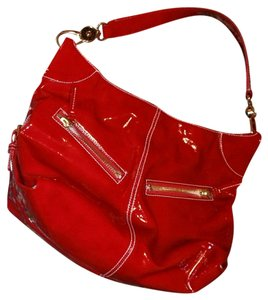 Dooney & Bourke Cherry Red D&b Valentine Hobo Bag
