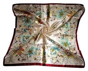 Other Polyester Satin/Silk blend large over sized scarf Free shippint