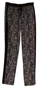 Vince Camuto Baggy Pants Black and White