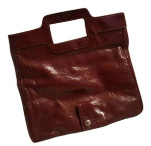 Elle Like New Burgundy Clutch