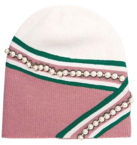 Gucci New Gucci Small Embellished Wool Beanie