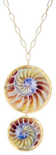 Preload https://img-static.tradesy.com/item/20541147/gold-nautilus-pendant-2-part-pendent-from-necklace-0-1-540-540.jpg