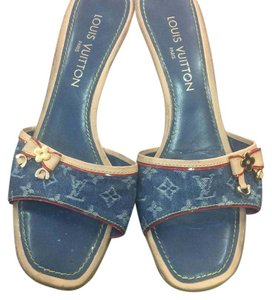 Louis Vuitton Denim Pumps