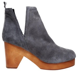 Jeffrey Campbell Grey Suede Boots