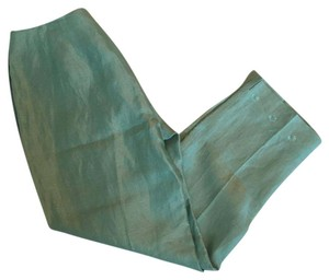 Sigrid Olsen Trouser Pants Aqua, Blue, Green, Mint