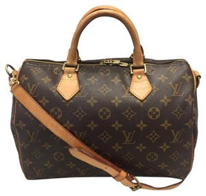 Louis Vuitton Speedy Bandouliere Cross Body Bag