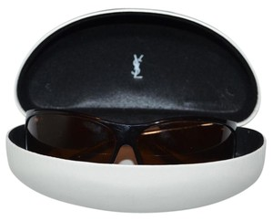 Saint Laurent Yves Saint Laurent shield Sunglasses with case
