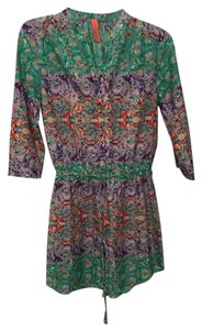 Eight Sixty short dress Multi Floral on Tradesy