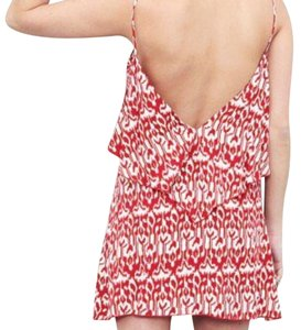 Blu Moon short dress Red on Tradesy