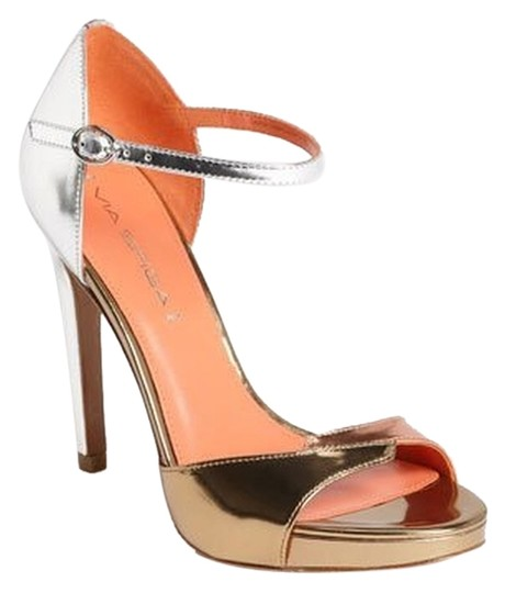 Via Spiga Silver Gold Rose gold Sandals