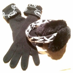Michael Kors MK Signature Gloves & Earmuffs
