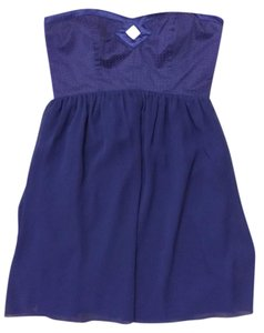 Walter by Walter Baker Strapless Cocktail Dress