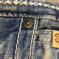 Big Star Misses Casual Night Out Sparkle Boot Cut Jeans-Light Wash Image 3