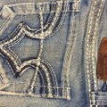 Big Star Misses Casual Night Out Sparkle Boot Cut Jeans-Light Wash Image 4