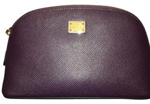 Dolce&Gabbana DOLCE AND GABBANA Saffiano Leather Make Up Bag