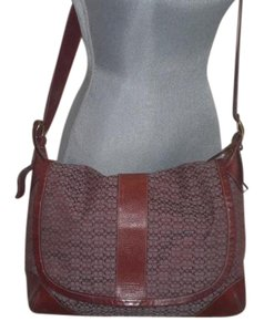 Coach Crossbody MAROON Messenger Bag