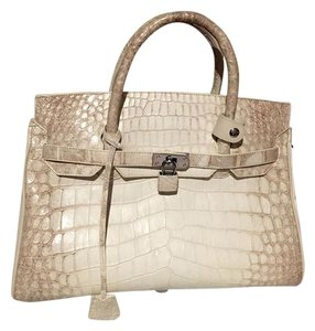 & Other Stories Crocodile Face Satchel in white