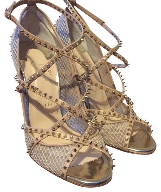 Item - Nude/Light Gold Alarc 100 Rete Mini Resille/Kid/Specc To Formal Shoes Size US 8.5 Narrow (Aa, N)