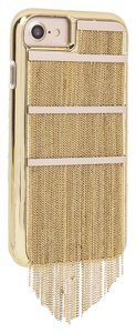 Case-Mate iPhone 7 Case - Gold Fringed Metal