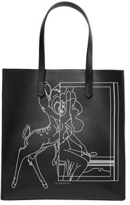 Givenchy Stargate Bambi Printed Classic Tote in Black