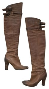Sam Edelman Over The Knee Brown Boots