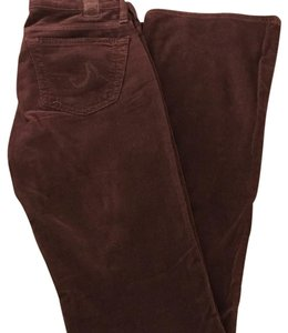 AG Adriano Goldschmied Boot Cut Pants Burgundy (Wine)